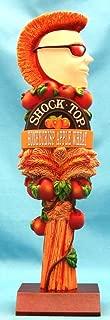 Shock Top Honeycrisp Apple Wheat 11in Resin Tap Handle w Display Stand