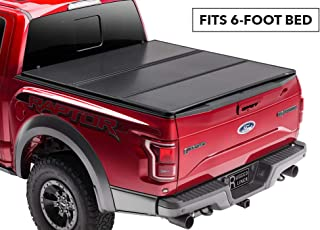 Rugged Liner Premium Hard Folding Truck Bed Tonneau Cover   HC-T616   fits 16-18 Toyota Tacoma 6ft. (with utility track), 6' bed