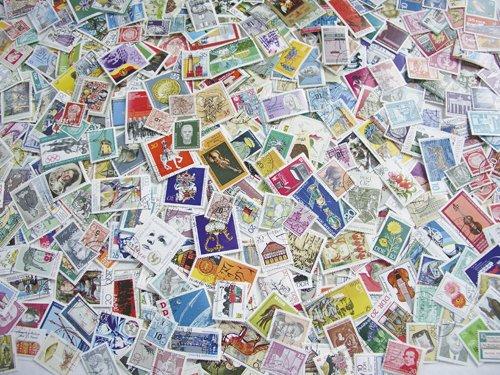 Goldhahn DDR Riesenkollektion gestempelt Briefmarken für Sammler