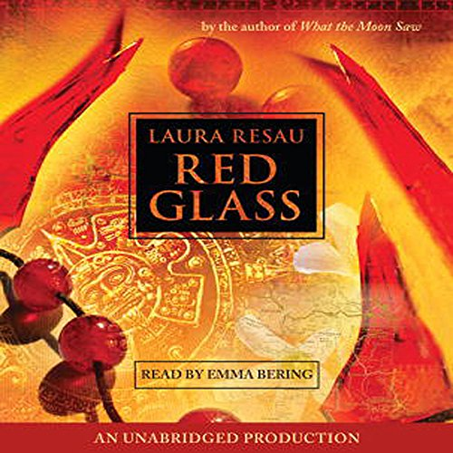 Red Glass audiobook cover art
