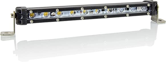Optix 9 inch LED Single Row Light Bar - 30W Slim Line LED Light Bar - LED Reverse Light - Front/Rear Bumper Light Bar