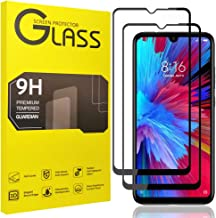 [2 Pack] uSuker for Xiaomi Redmi Note 8 Tempered Glass Screen Protector, Full Coverage, Anti Scratch, Bubble Free (Not Fit for Redmi Note 8 Pro/Redmi 8)