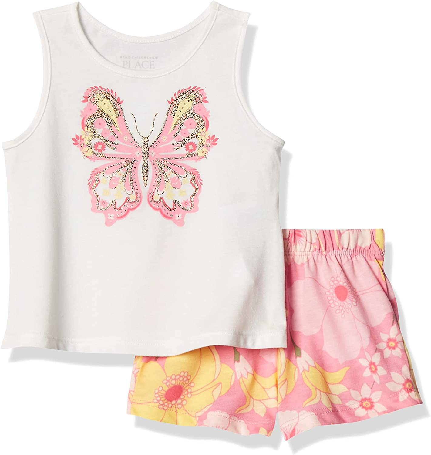 The 1 year warranty Children's Place baby-girls Short Louisville-Jefferson County Mall Casual Sets