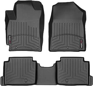 WeatherTech Custom Fit FloorLiner for Hyundai Elantra - 1st & 2nd Row (Black)