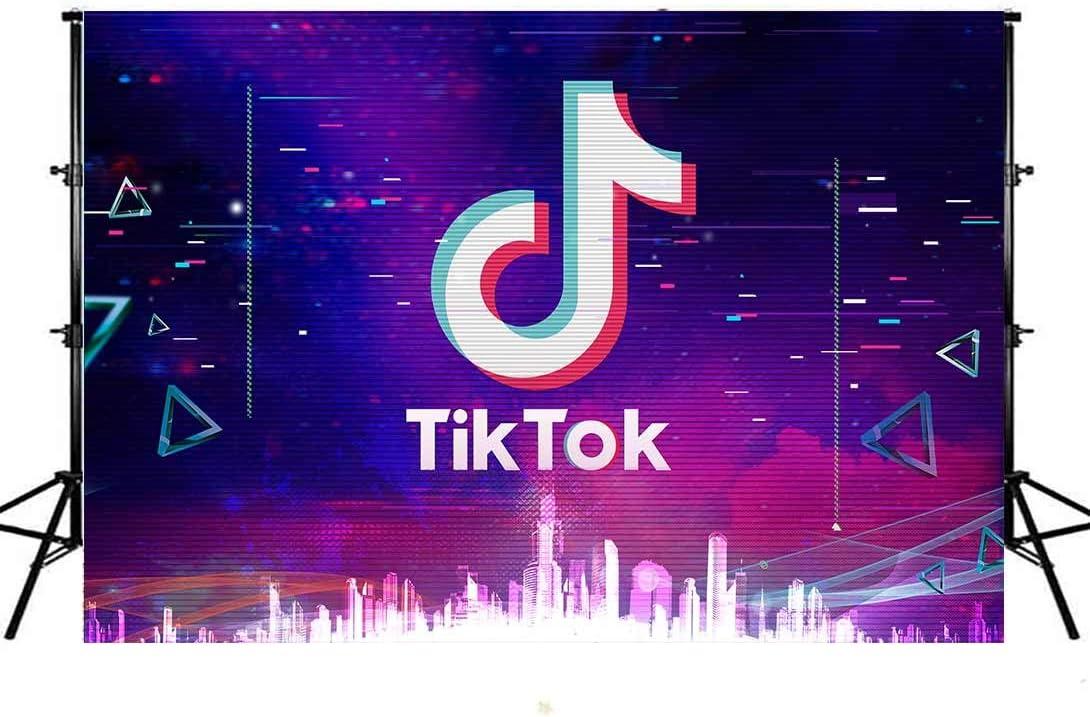 Mohoto TIK Tok Musical Bacdrop for Girls Party Music Th Karaoke Alternative dealer Manufacturer OFFicial shop