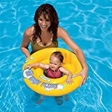 KriTech Inflatable Baby Float Ring Swimming Pool Toys for Babies & Toddlers