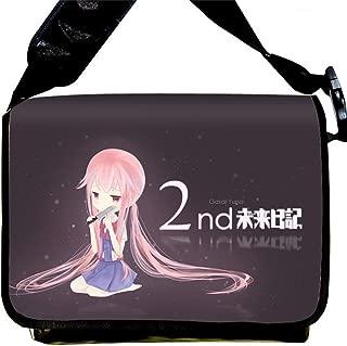 Future Diary Anime Mirai Nikki Cartoon Messenger Bag Shoulder Bag