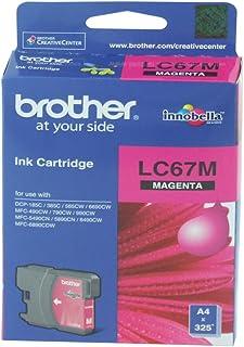 Brother Ink Cartridge, Magenta [lc67m]
