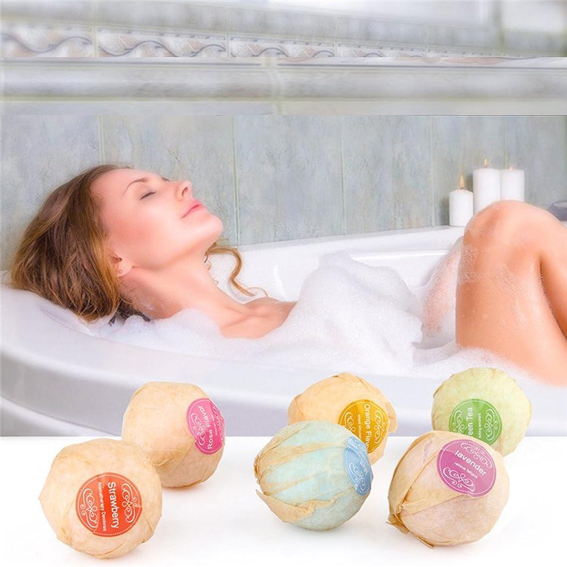 Iulove Organic Bath Bombs Bubble Bath Salts Ball Essential Oil Handmade SPA Stress