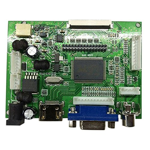 Abilie Controller Board HDMI VGA AV für Laufwerk LVDS/TTL Display Screen