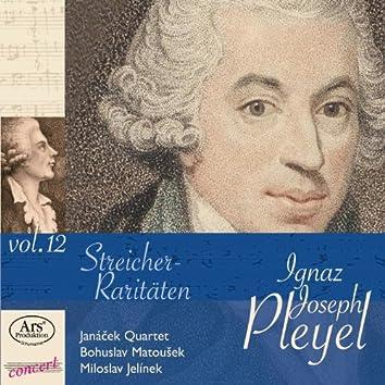 Pleyel: Streicher-Raritäten, Vol. 12