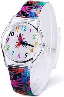 Jian Ya Na Fashion Women Analog Quartz Watch Eco-Friendly Silicone Watch Round Dial Rubber Strap,Great Gifts for Young Girls