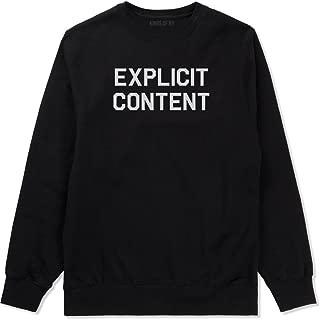 Explicit Content Crewneck Sweatshirt