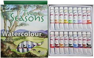 Mont Marte Paint Set - Two Seasons Pastel Colours Watercolour Paint 18pc x 12ml