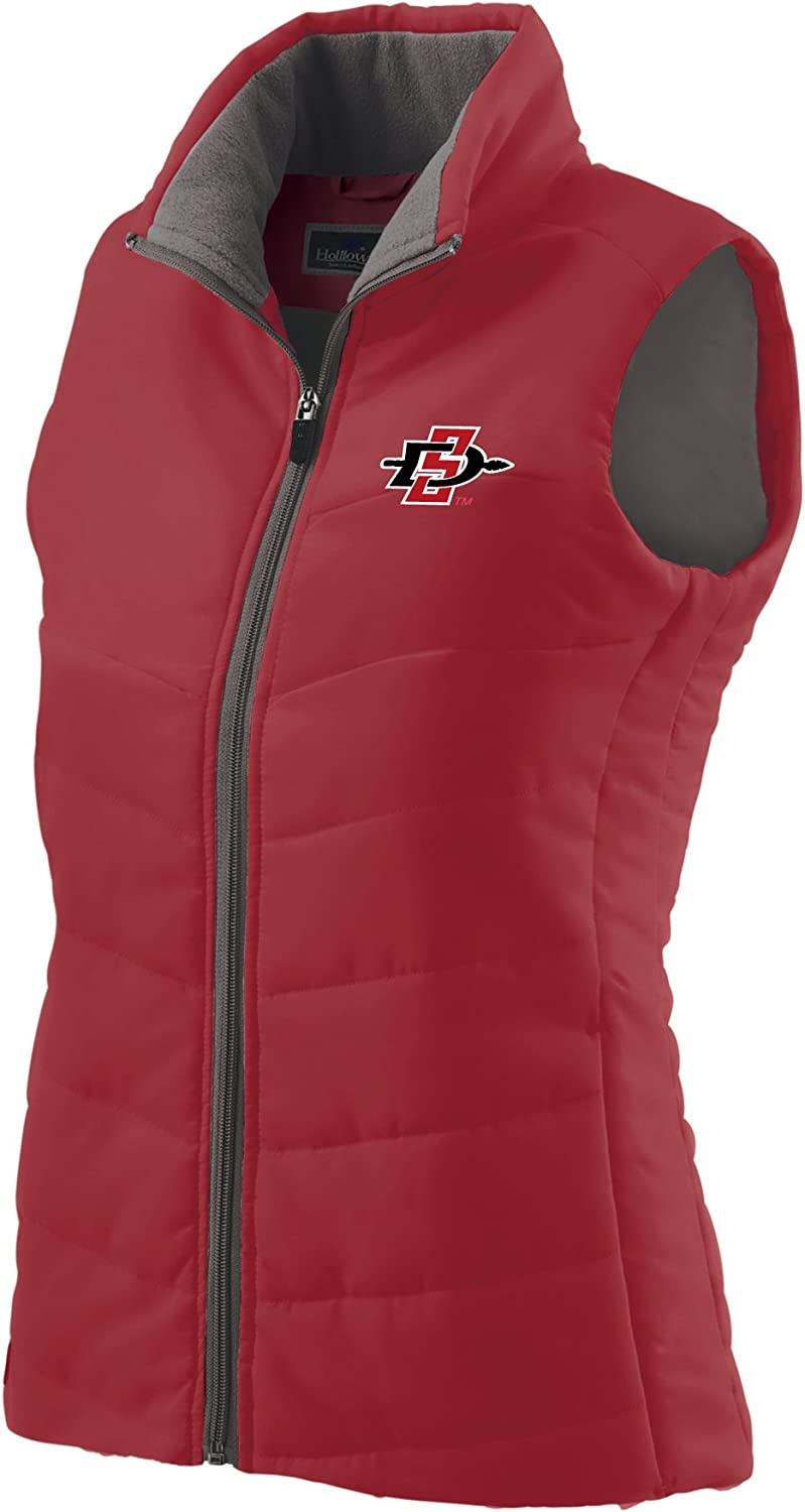 NCAA Spring new work one after another San El Paso Mall Diego State Aztecs Vest Women's Large Admire Scarlet