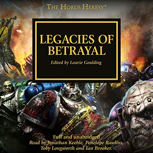 Legacies of Betrayal audiobook cover art