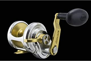Accurate Boss Fury FX-500X Reel - Right-Hand - Silver/Gold