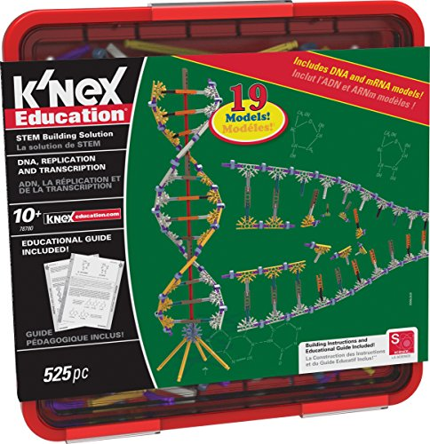 K'NEX Education – DNA Replication and Transcription Set – 525 Pieces – Ages 10+ Science...