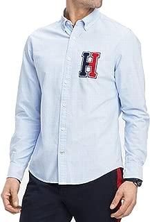 Men's New England Logo Button-Down Shirt