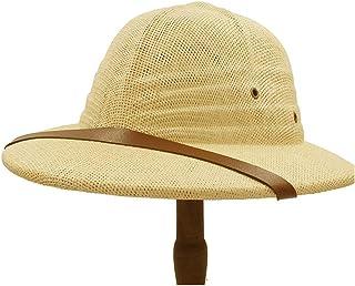 2019 Womens Hats Caps Womens Simple Bowler Hat for Women Vietnam War Military Cap Straw Hat Summer Bow Bucket Sun Hat Ladies Men Explorer Jungle Miner Cap Fashion Casual