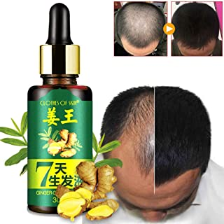 7 Days Hair Growth Care Ginger Essential Oil Nourishing for