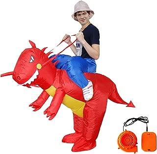 WEN-mask Halloween Inflatable Dinosaur, Cute Animal Mount, Children's Style (Size : XL)