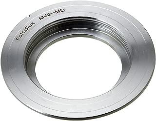 Fotodiox Lens Mount Adapter, M42 (42mm x1 Thread Screw) to Minolta SR, MC, MD Mount Camera for Minolta SR-T 101, x370, x570, x700, XD-7, XD-5,