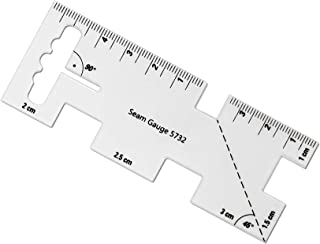 VViViD 9-in-1 Quilting & Sewing Seam Measuring Gauge Ruler Template