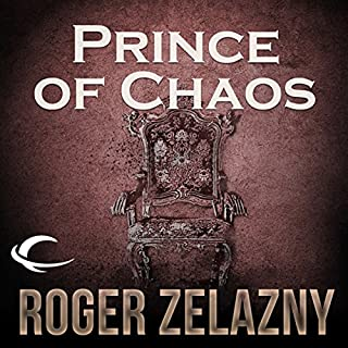 Prince of Chaos audiobook cover art