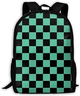 Aeoiba Unisex School Bag Outdoor Casual Shoulders Backpack Demon Slayer Travel Daypacks for Women Men Teens Kids