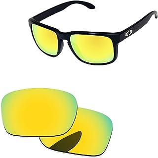 Oak&Ban Polarized Replacement Lenses for Oakley Holbrook Sunglass-Multi Options Golden