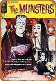 The Munsters Comic Metallwand Zeichen Blechschilder Warnung