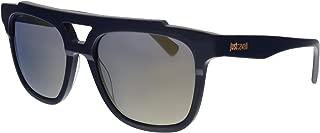JC757S 90C Navy Rectangular Sunglasses for Womens