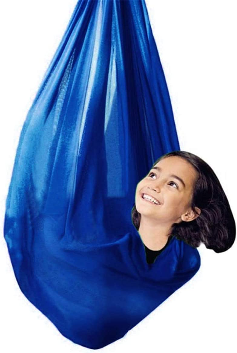 QHY Max 69% OFF Sensory Swing Aerial Yoga Colorado Springs Mall for Hammock Indoor Therapy K