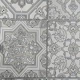 Hule | Mantel Mesa Antimanchas | Mantel Mesa Comedor y Mesa Cocina PVC Impermeable, para Interior y Exterior Diseño Clasico (140_x_250_cm)