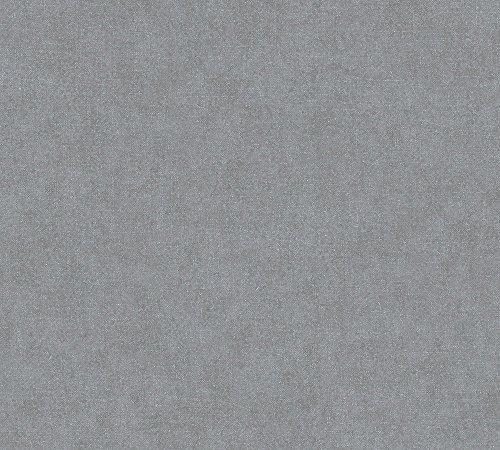 A.S. Création Vliestapete Elegance Tapete Unitapete 10,05 m x 0,53 m grau Made in Germany 301751 30175-1