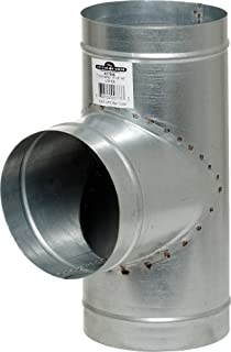 Hydrofarm ACT666 Active Air T 6-Inch Connector, 6 by 6 by 6