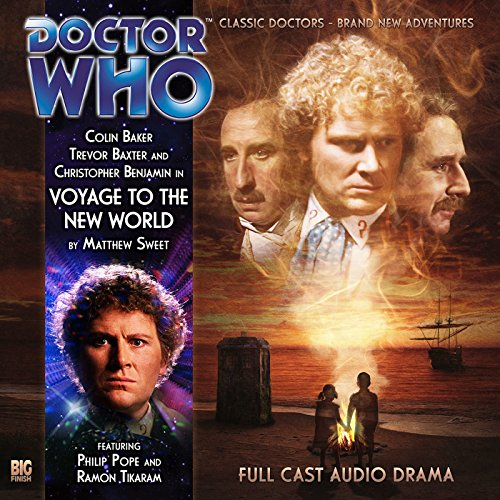 Doctor Who - Voyage to the New World cover art