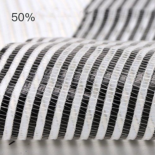 DUO Voiles d'ombrage 50% Ombre UV Tissu Noir Premium Mesh Shadecloth Sunblock Shade pour plante et fleur (Color : A, Size : 2.15m×2m)