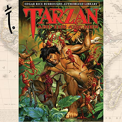 Tarzan and the Ant Men Audiobook By Edgar Rice Burroughs cover art