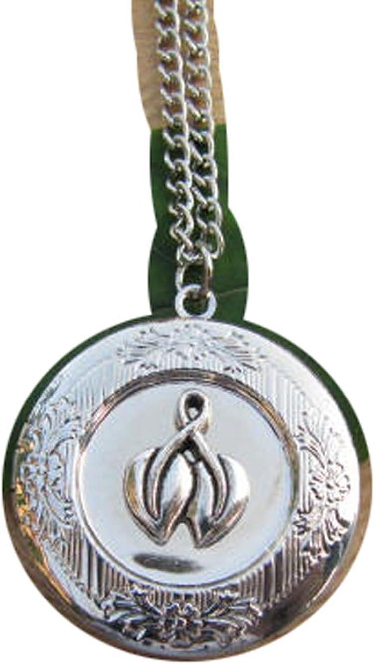 2Pcs Leaf Locket,Leaf Necklace, Good Luck, Best Friend Gift, Locket Necklace, Luck Charm