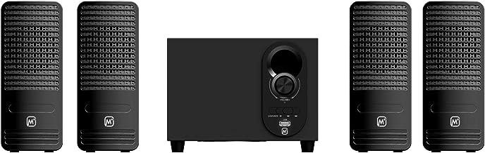 Matata MTM41311 True 12 Watt 4.1 Channel Multimedia Speaker with Built in Amplifier, Multi Connectivity - Wireless Bluetoo...