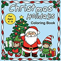 Christmas Holidays coloring book
