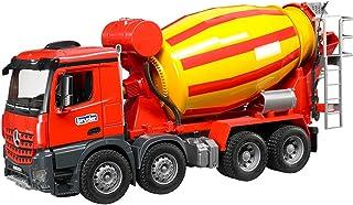 Bruder Mercedes Benz Arocs Cement Mixer Truck 3654 Vehicle , Multi color