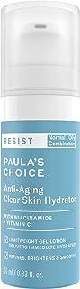 Paula's Choice-RESIST Anti-Aging Clear Skin Hydrator Moisturizer with Niacinamide & Vitamic C for oily Skin, 10 ml