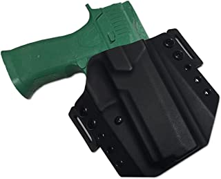 Elite Force Holsters: Kydex Holster for Sig Sauer P320-X5 Full Size OWB - RMR Cut- Black, Right Hand
