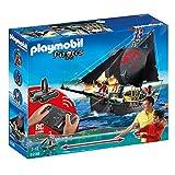 PLAYMOBIL Piratas - Barco Pirata con Control Remoto (5238)
