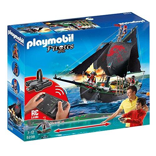 PLAYMOBIL Piratas - Barco Pirata con Control...
