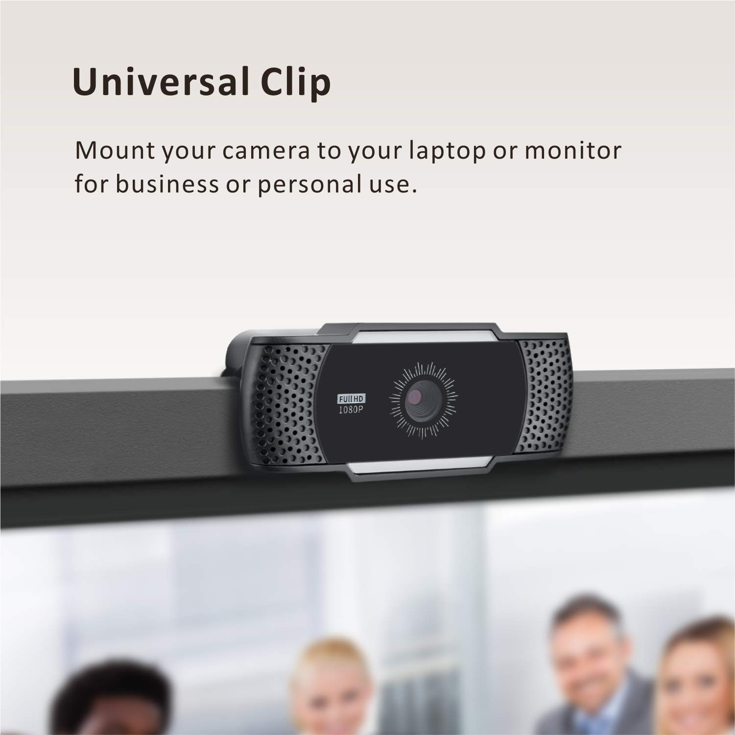 Web Cameras for Computers, Baytion 1080P USB Webcam with Microphone for PC/Laptop/Desktop/Video Calling/Conferencing etc [Full HD 1080P][Noise Reduction Digital Mic][Plug and Play]
