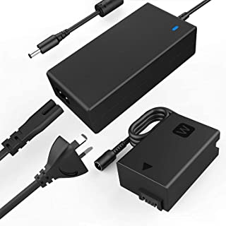 F1TP ACPW20 AC Power Supply Adapter kit (Replace NP-FW50 Dummy Battery) for Sony Alpha A7000 A6500 A6400 A6300 A6100 A6000...